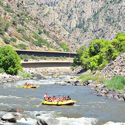 Colorado Whitewater River Rafting Glenwood Springs